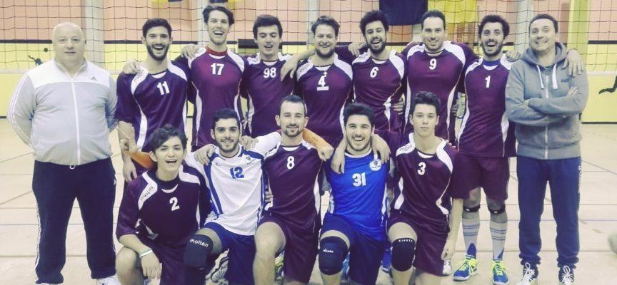 PALLAVOLO 1.a divisione maschile il Volley 2P PanteraPorcari batte il Rosignano 3-0