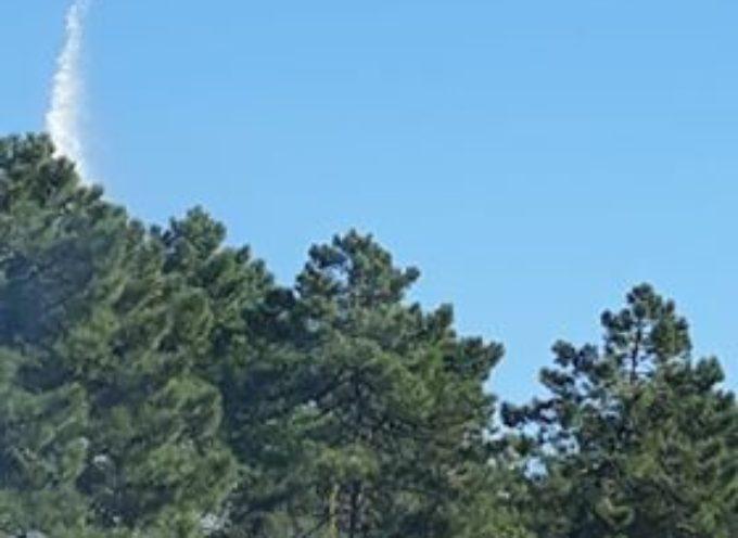 Aggiornamento Incendio a Seravezza località Le Salde