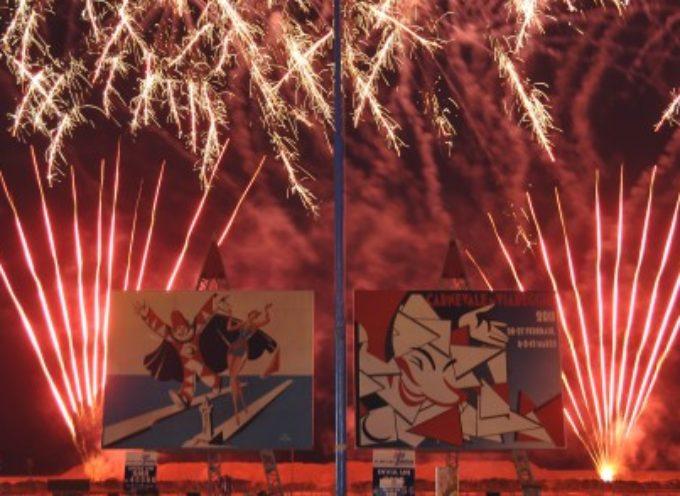 VIAREGGIO – Carnevale: fuochi d'artificio anche sabato sera