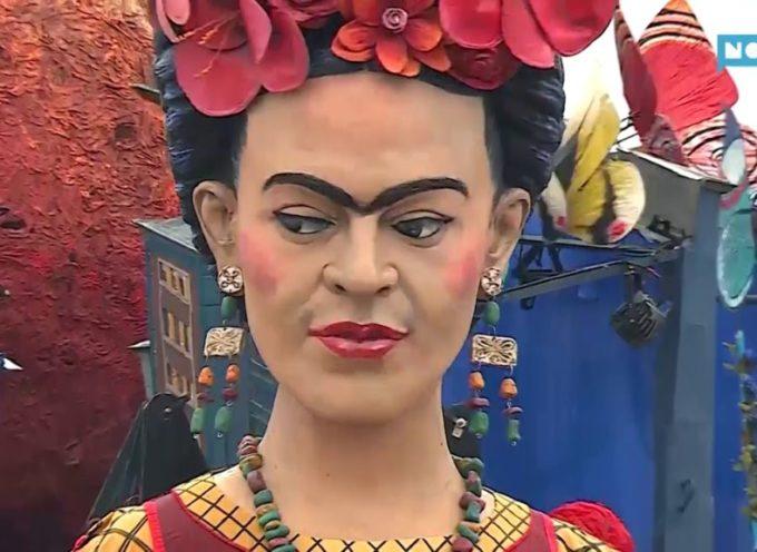 Carnevale di Viareggio, la festa è partita tra Trump e Frida Kahlo