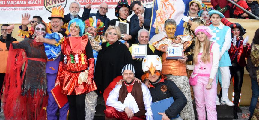 Carnevale Pietrasantino: il carro più bello è della Brancagliana,mascherata a Strettoia