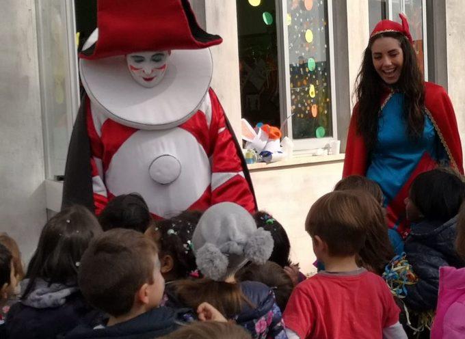 Si è svolta oggi la festa di Carnevale della scuola dell'infanzia e della scuola primaria di Capannori