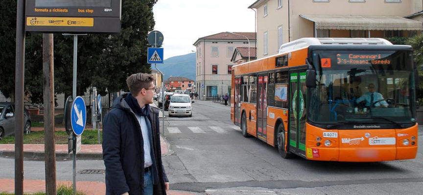 CAPANNORI – Autobus, ecco le paline intelligenti con informazioni in tempo reale