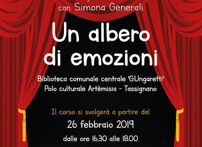"""ARTEMISIA – Al via il 26 febbraio il corso di teatro per bambini """"Un albero di emozioni"""