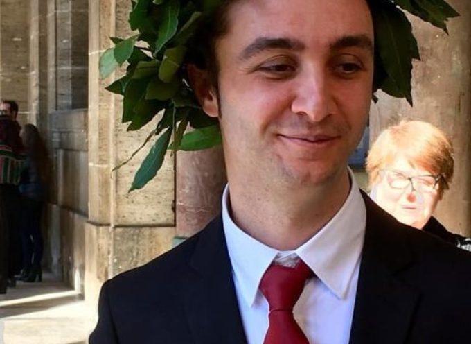 Congratualzioni a Federico Bertagna, laureatosi brillantemente a Pisa