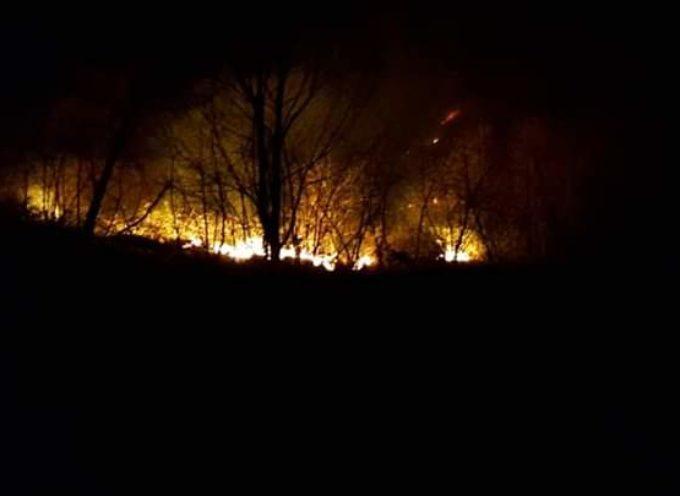 Incendio a Stazzema, consumati 100 ettari di prati e pascolo
