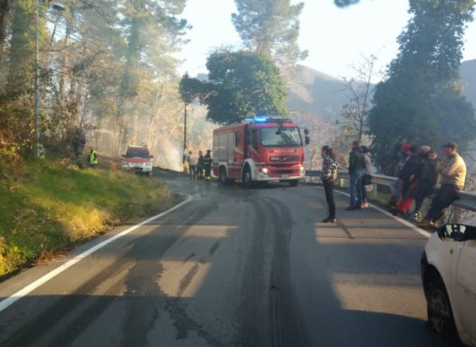 Seravezza: sotto controllo l´area dell´incendio