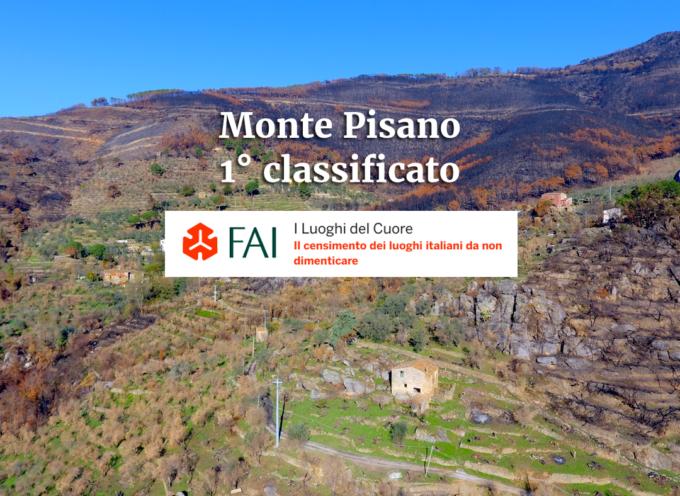 il Monte Pisano si è classificato 1° fra i Luoghi del Cuore FAI.