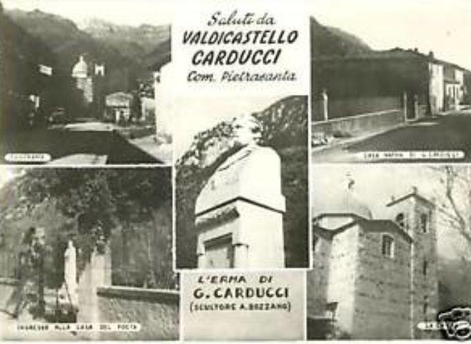 Valdicastello ricorda Carducci
