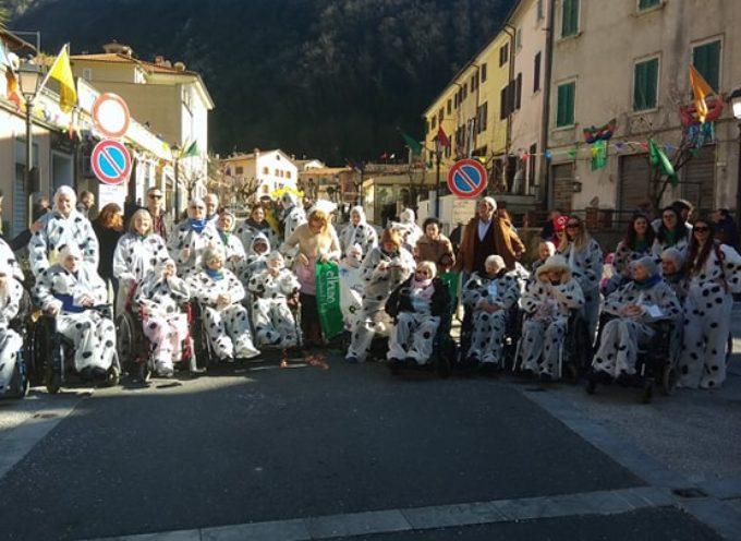 Invasione di Dalmati al Carnevale dei Piccoli, di Seravezza