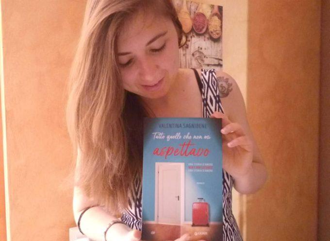 a Lucca Libri,  l'autrice lucchese Chiara Parenti presenta il romanzo di esordio di Valentina Sagnibene