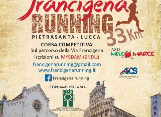 Turismo sportivo: Francigena Running da Pietrasanta a Lucca,