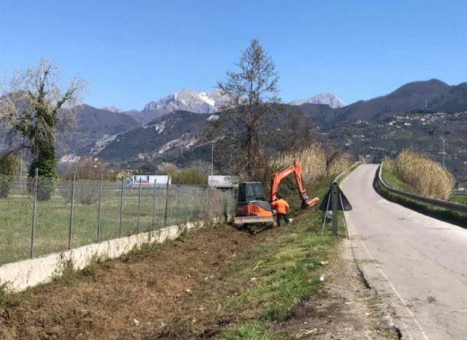 PIETRASANTA – Prevenzione: nuovi interventi su fossi e canali, al via secondo lotto in via Pisanica e via Olmi