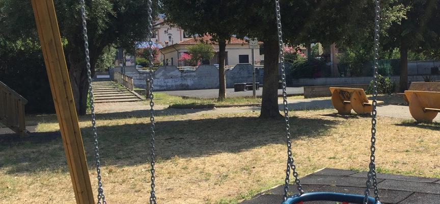 con i fondi destinati ai Centri Commerciali Naturali la Regione finanzia la riqualificazione del parco giochi di via Don Minzoni a Querceta