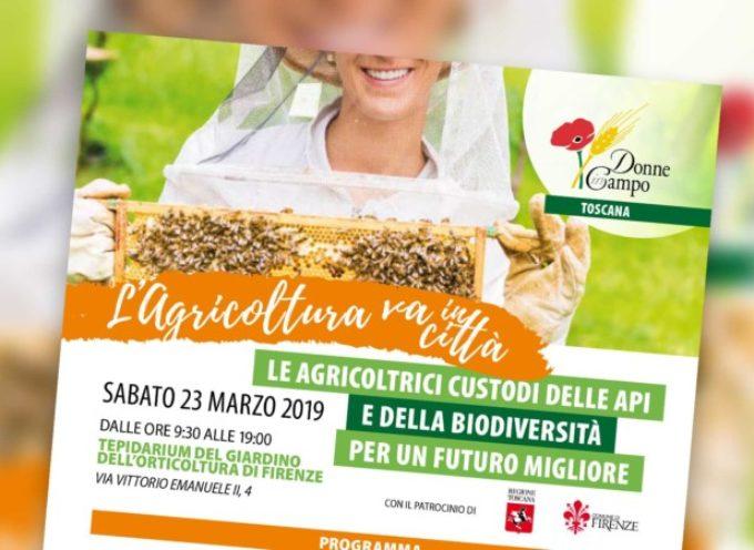 Una giornata con Donne in Campo, le api e la biodiversità. Sabato 23 marzo a Firenze