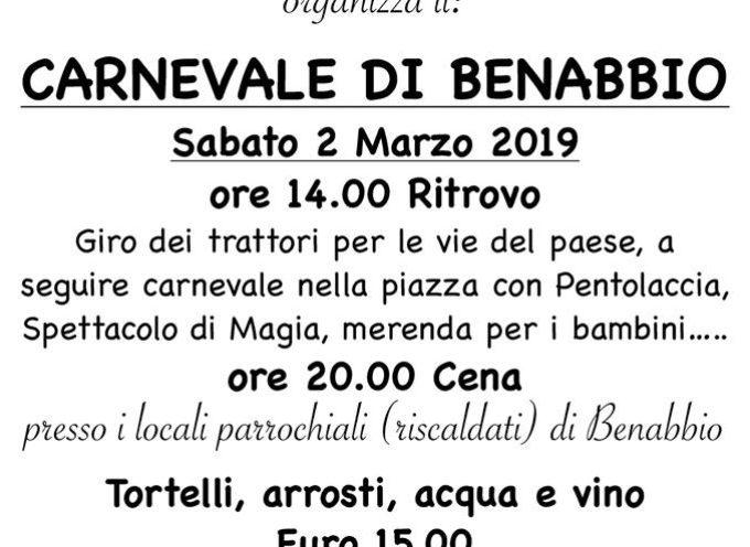 il Carnevale di Benabbio!