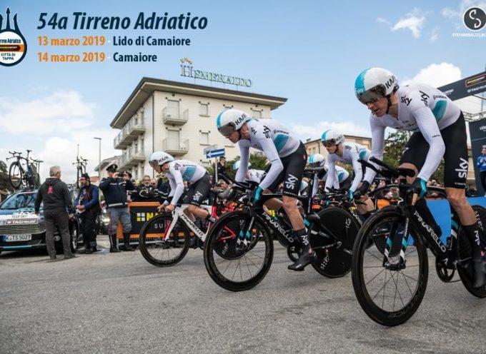 Camaiore ospiterà le prime due tappe della Tirreno Adriatico 2019.