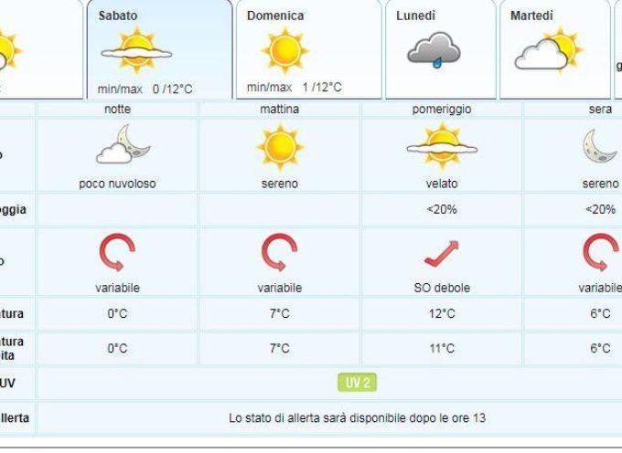 il Meteo per la Valle del Serchio del LAMMA Toscana.. aggiornamento al  1 marzo
