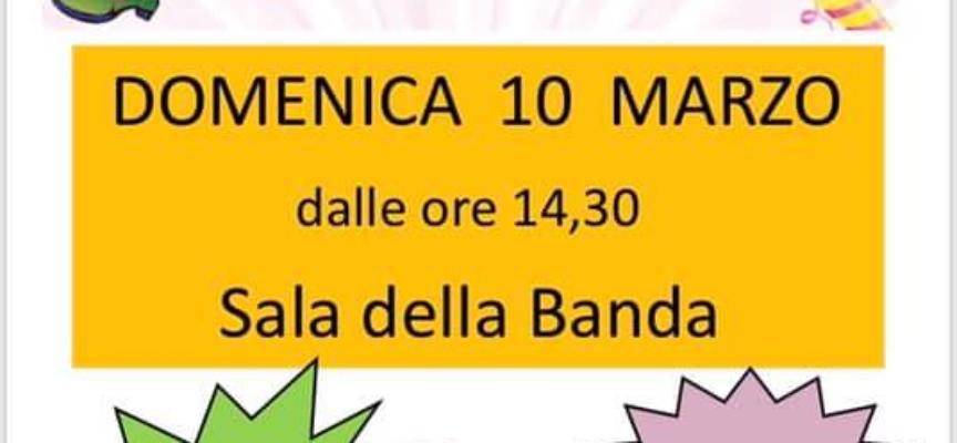 Carnevale per bambini a Corsagna, DOMANI DOMENICA 10 MARZO