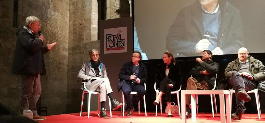 Il Sindaco Andrea Tagliasacchi è stato chiamato ad intervenire a Dillo in sintesi presentando il progetto museale della Rocca Ariostesca.