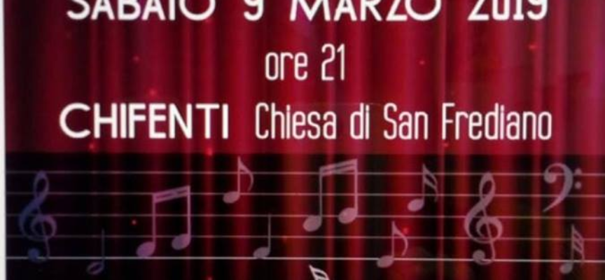 Concerto Lirico A  Chifenti. nel comune di  Borgo a Mozzano..