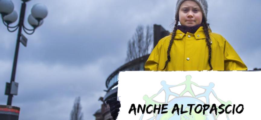 Anche l'amministrazione comunale di Altopascio aderisce allo sciopero e alla manifestazione per il clima,