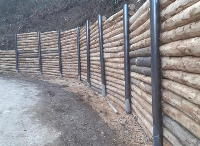VAGLI SOTTO (LU) lavori di ingegneria ambientale con ripristino e messa in sicurezza strada Vagli/Minucciano