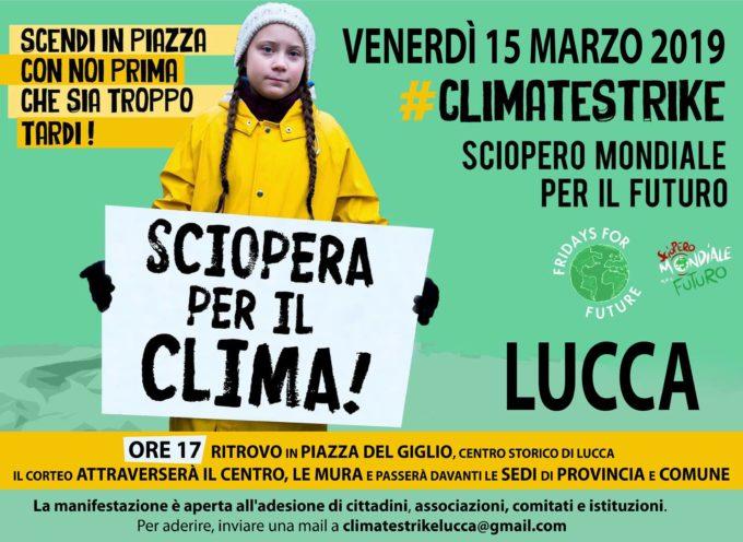 Lucca Manifesta Per Clima E Futuro