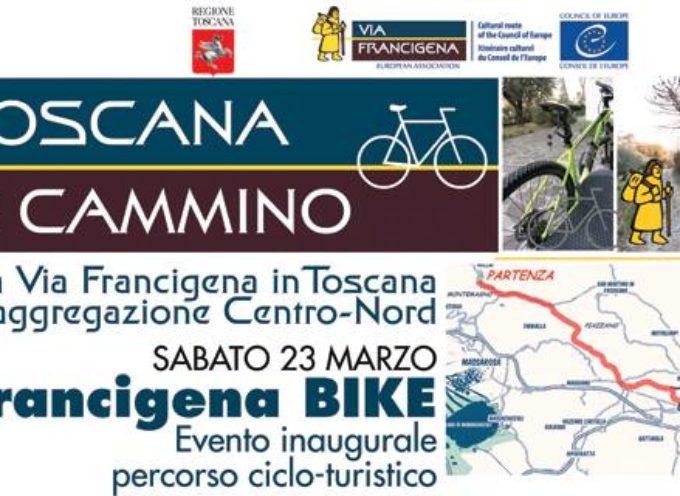 FRANCIGENA BIKE Natura, cultura e sport: in bicicletta sulla nuova ciclabile