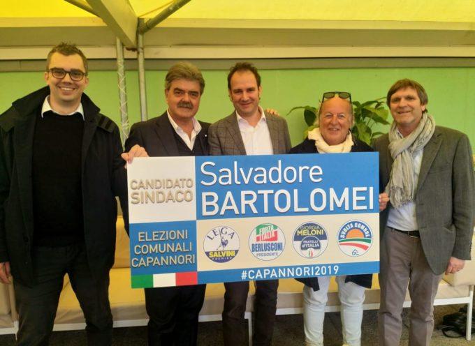 il candidato che il Centrodestra unito ha scelto per mandare a casa Menesini e liberare anche Capannori dal Pd