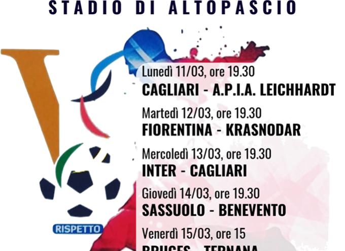 Ad Altopascio si gioca la Viareggio Cup!