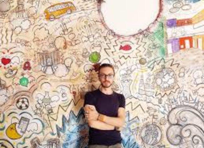 """Francesco Zavattari con una nuova tappa di """"Colour State of Mind"""", a   Borgo a Mozzano.."""