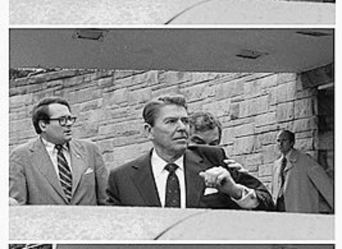 ACCADDE OGGI – Il 30 marzo 1981 il neopresidente USA Ronald Reagan è gravemente ferito in un attentato