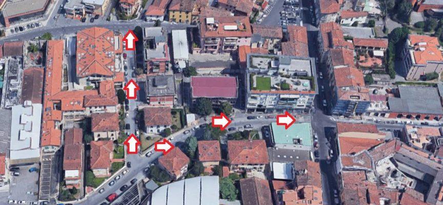 Due nuove sensi unici saranno in vigore da lunedì 18 marzo a Borgo Giannotti
