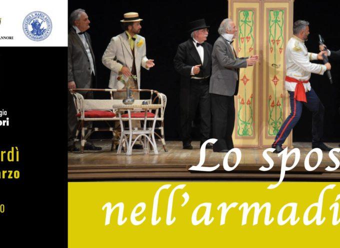 """al teatro Artè di Capannori la Compagnia Teatro Studio metterà in scena """"Lo sposo nell'armadio"""""""
