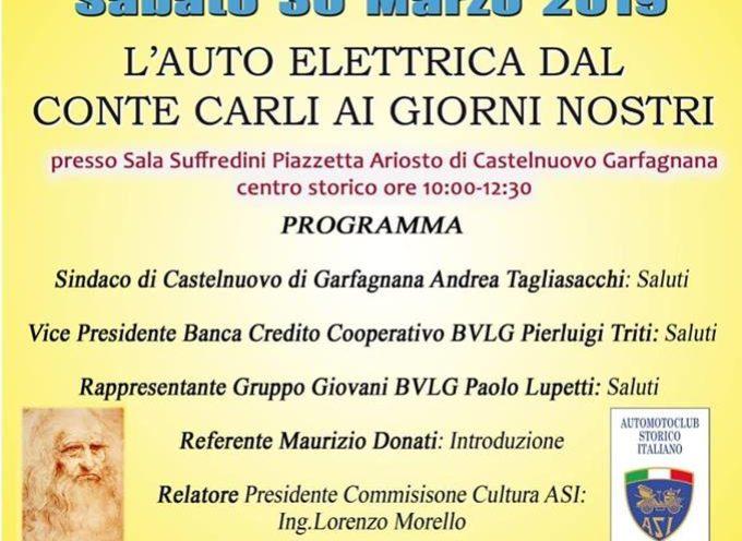 Sesta Edizione del Convegno dedicato alla mobilità elettrica nella città che dette i natali al Conte Carli,