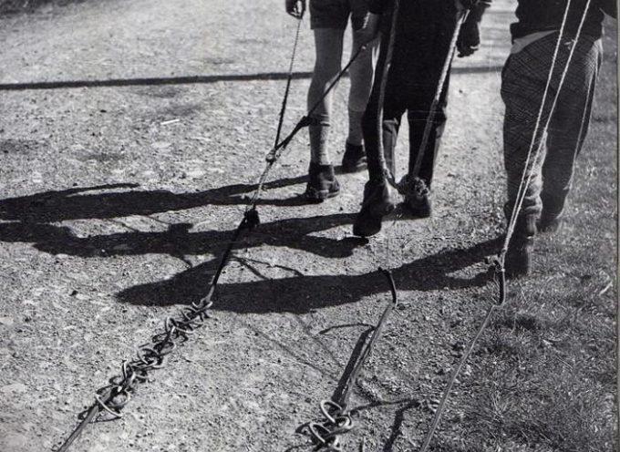 La pulizia delle catene del camino.