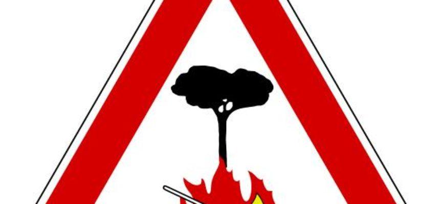 LUCCA – Prorogato fino al 10 aprile il divieto di accendere fuochi all'aperto