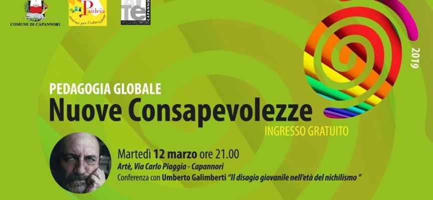 Il filosofo e sociologo Umberto Galimberti martedì 12 marzo sarà ad Artè