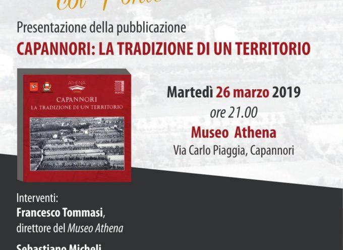 """AD ATHENA LA PRESENTAZIONE DELLA PUBBLICAZIONE 'CAPANNORI:LA TRADIZIONE DI UN TERRITORIO"""""""
