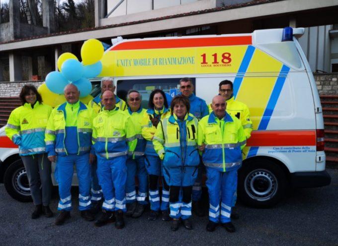 Inaugurata la nuova ambulanza della Misericordia di Ponte all'Ania