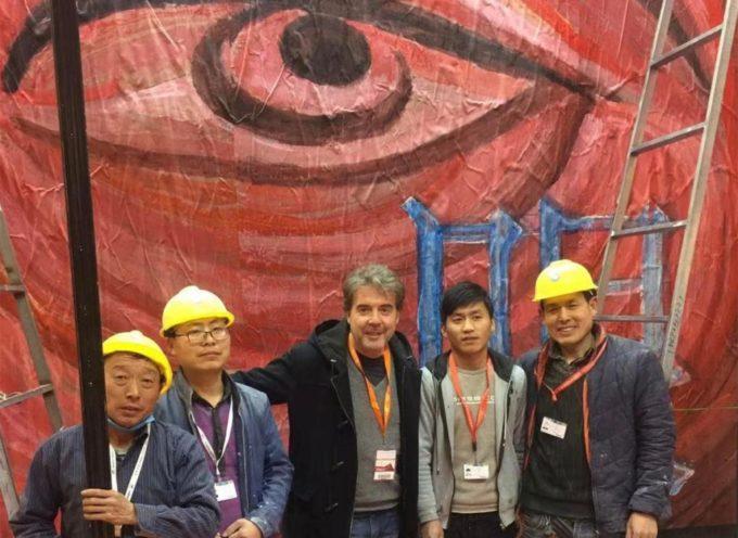 Fabrizio da Prato espone a Pechino il suo Occhio