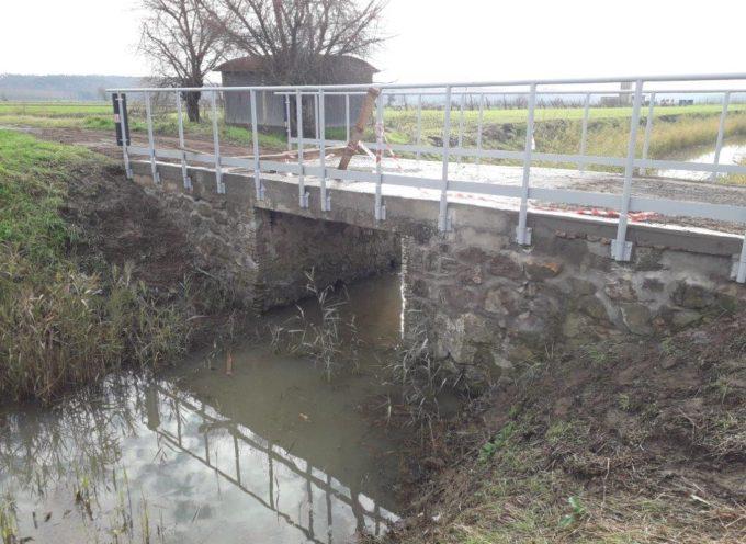 Rifacimento dei ponti e manutenzione dei rii: nel 2019 il Consorzio, in collaborazione con l'Amministrazione comunale, investe oltre 140mila euro sul territorio di Bientina