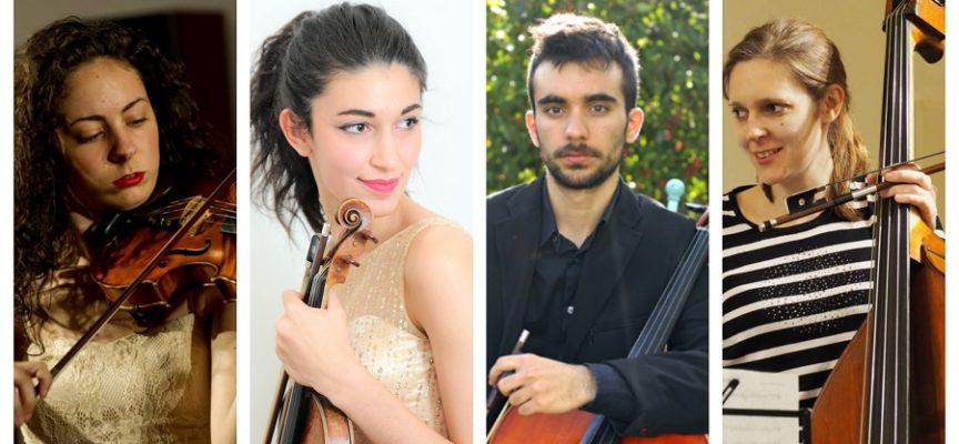 Il giovanissimo Quartetto Rossini in concerto a Palazzo Ducale
