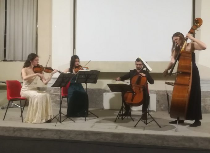 Quartetto Rossini convince Palazzo Ducale
