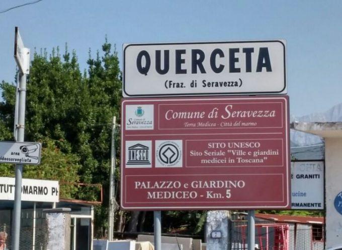 QUERCETA – CAMBIO DI DESTINAZIONE PER LA COSTRUZIONE  ADIACENTE LA VIA AURELIA