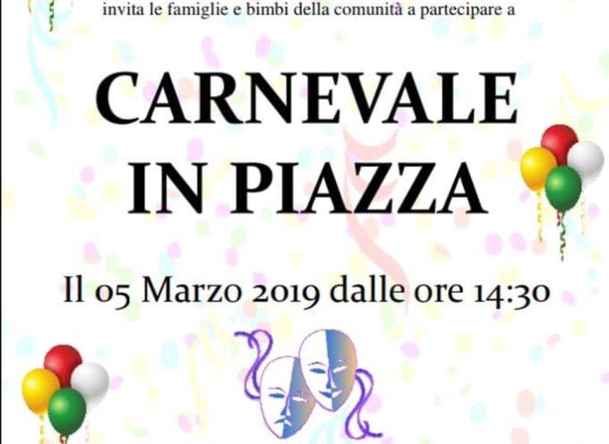 Carnevale in piazza a  Castiglione di Garfagnana