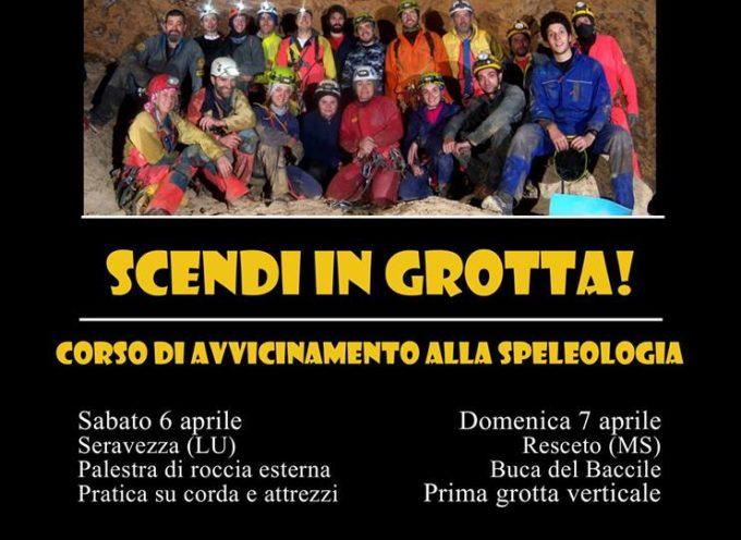 Corso di Speleologia con lo Speleoclub Garfagnana  –  Arni – Vagli Sotto