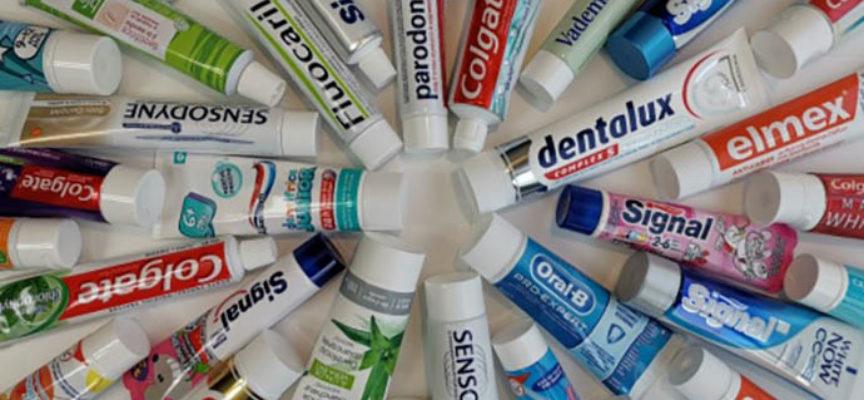 2 dentifrici su 3 contengono biossido di titanio, possibile cancerogeno. L'analisi francese
