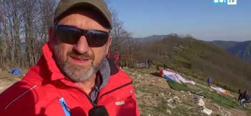 Il monte Bargiglio banco di prova per i deltaplanisti prima dell'esame nazionale